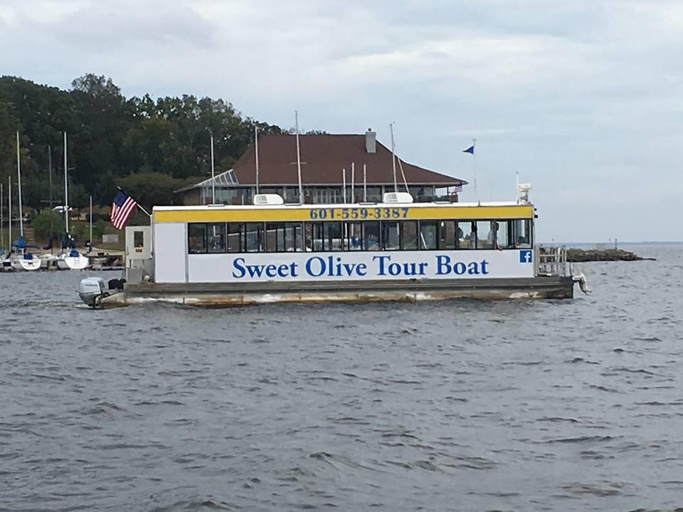 Sweet Olive Tour Boat Ridgeland MS