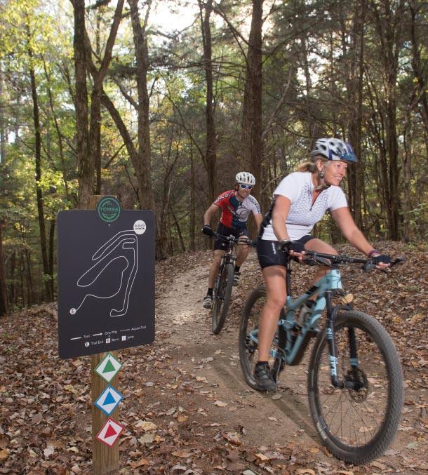 Ridgeland Cycling Trails